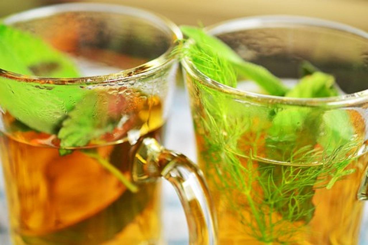 Čaj na vysoký tlak