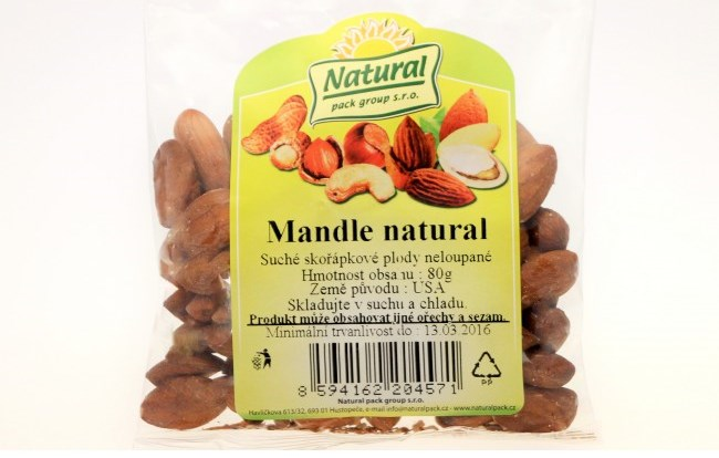 Mandle natural
